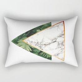 Geometric Tropical Marble Rectangular Pillow