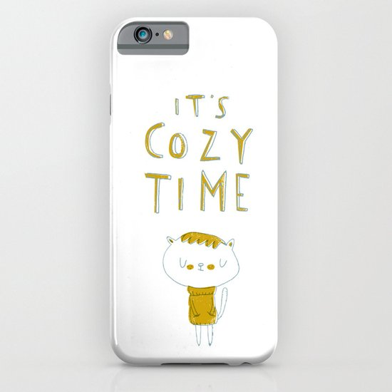 it's cozy time iPhone & iPod Case
