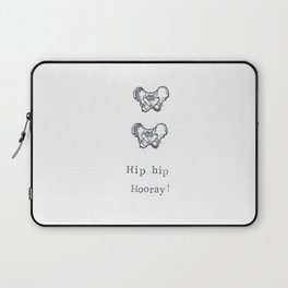 Hip Hip Hooray Laptop Sleeve
