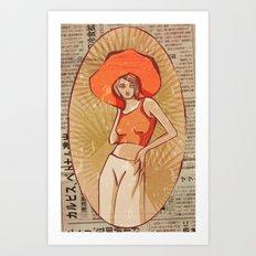 Rivera Art Print