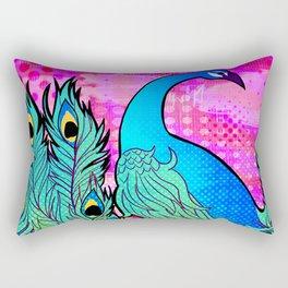 Peacock Rectangular Pillow