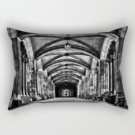 University of Toronto Knox College Cloister No 1 Rectangular Pillow