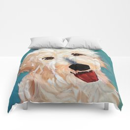 Our Dog Floyd Comforters