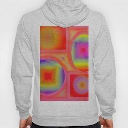 Gradient colors forms Hoody