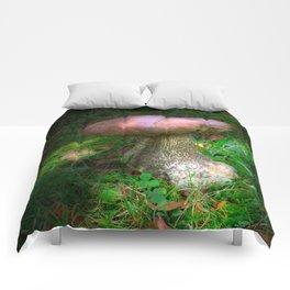 Penny Bun Fairy Mushroom Comforters