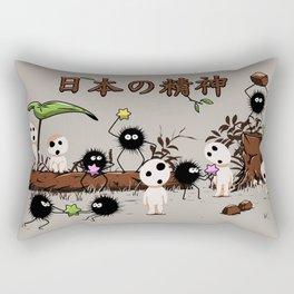 Kodamas & Susuwataris.2 Rectangular Pillow