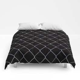 Black Chainlink Comforters