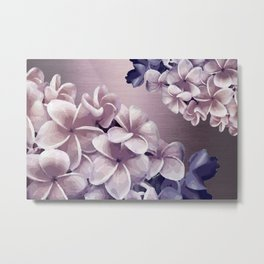 Imperfect Plumeria Metal Print