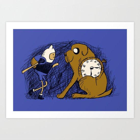 Tollbooth Adventures Art Print