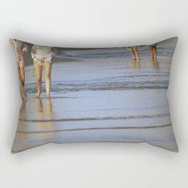 2's at the Beach Rectangular Pillow