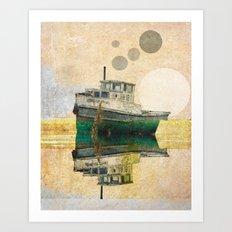 Ocean Morning Art Print
