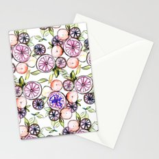 Citrus Fruits Stationery Cards