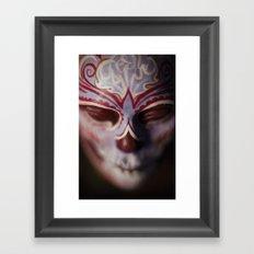 Autumn Muertita Detail Framed Art Print