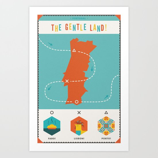Portugal - The Gentle Land Art Print