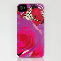 Flowers series_v02 Slim Case iPhone (4, 4s)