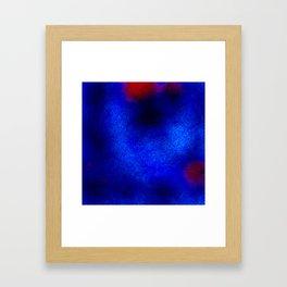 The sky behind the glass 2 Framed Art Print