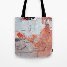 grey red 3 Tote Bag