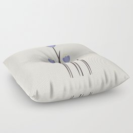 Minimal Bluebells Floor Pillow