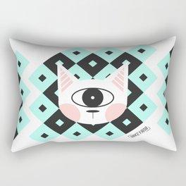 Cat Cyclops Rectangular Pillow