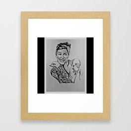 Tattoo Life  Framed Art Print