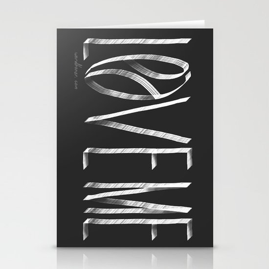 Love Me or Leave Me Stationery Cards