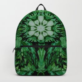 Green Starburst 1 Backpack