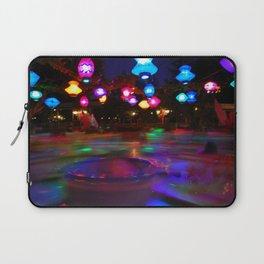 Teacups Blur at Night Laptop Sleeve