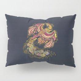 Watercolor Phoenix bird Pillow Sham