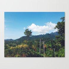 Thinkin of U Canvas Print