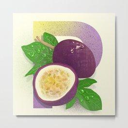 Passionfruit (Lilikoi) Metal Print