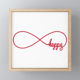 Happy forever Framed Mini Art Print