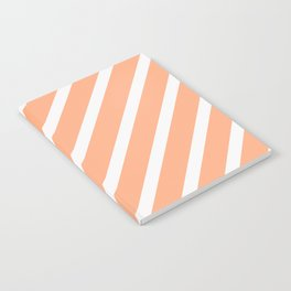 CLASSIC CROSS MELON Stripes Notebook