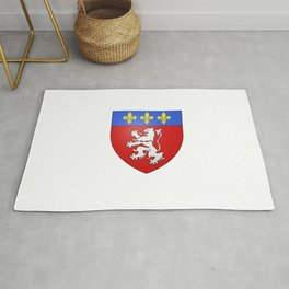 flag of Lyon Rug
