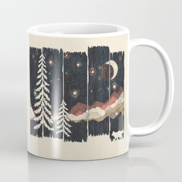 A Starry Night in the Mountains... Coffee Mug