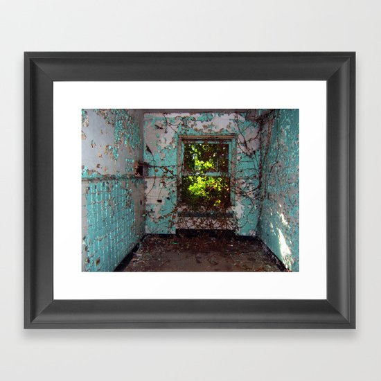Secret Room Framed Art Print