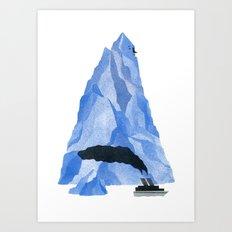 The Living Iceberg Art Print