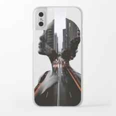 City 2 Clear iPhone Case