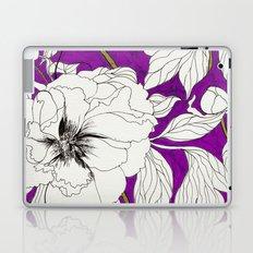 Purple Peonies Laptop & iPad Skin