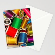 Sewing Thread Stationery Cards