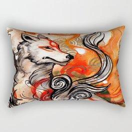 Okami Amaterasu Rectangular Pillow