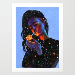 Ask the Universe Art Print