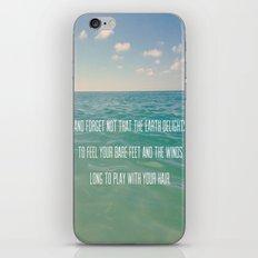 Oceanic Inspiration iPhone & iPod Skin