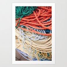 Sailor Rope II Art Print