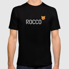 Rocco MEDIUM Black Mens Fitted Tee