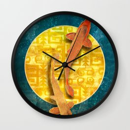 Koi Sol Wall Clock