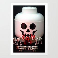 All Hail the Storage Jar Art Print