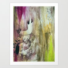 Purple Heart In Times of Peace Art Print