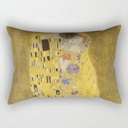 The Kiss by Gustav Klimt Rectangular Pillow
