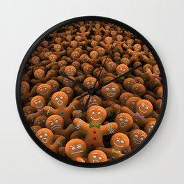 Gingerbread army Wall Clock