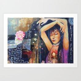 Living Free Art Print
